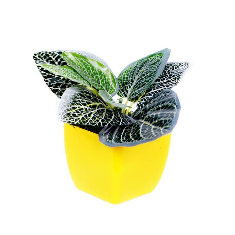 Buket Meja Mini Cute Artificial Spray Leaf Vitonia