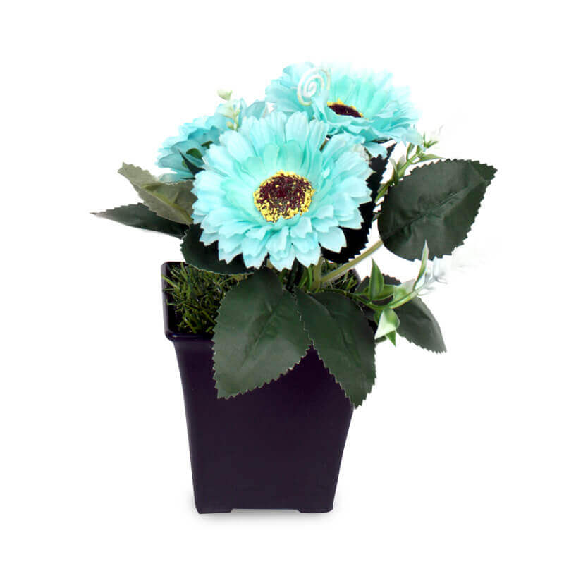 Buket Meja Mini Cute Artificial Gerbera Flower