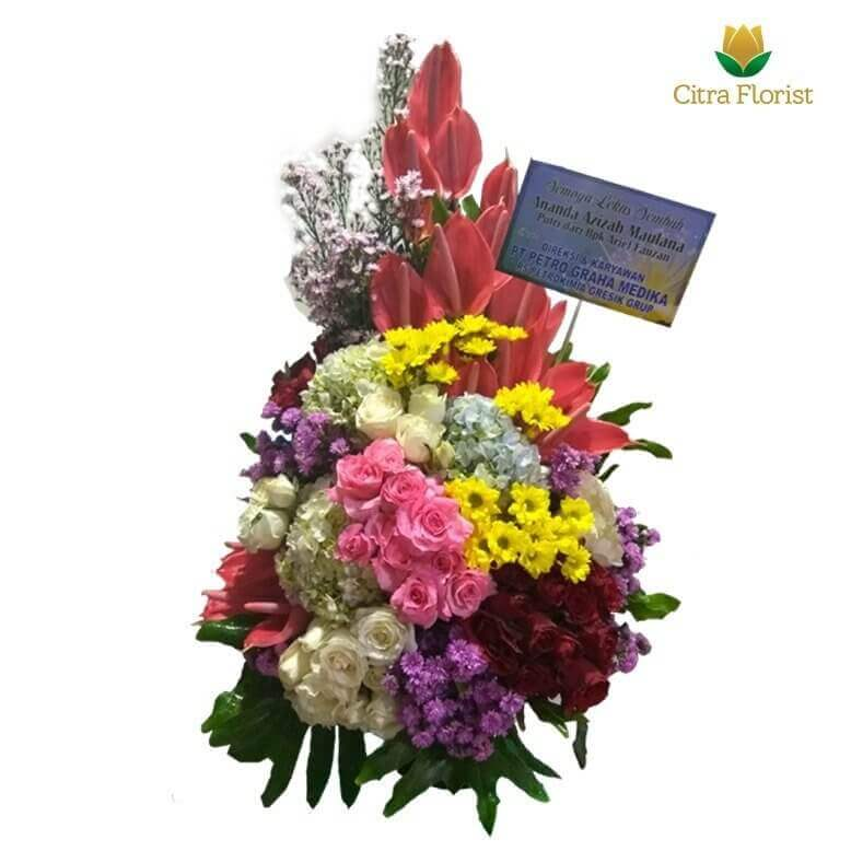 (SBY) Buket Meja Segar High Style Mix Flower