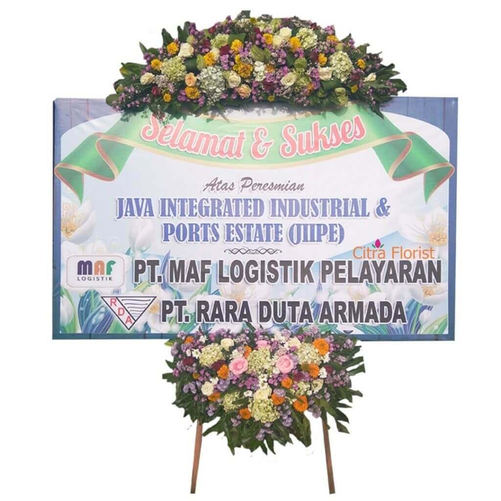 Flowerboard Congratulation Banner 2 Meter Crown and Bottom Part