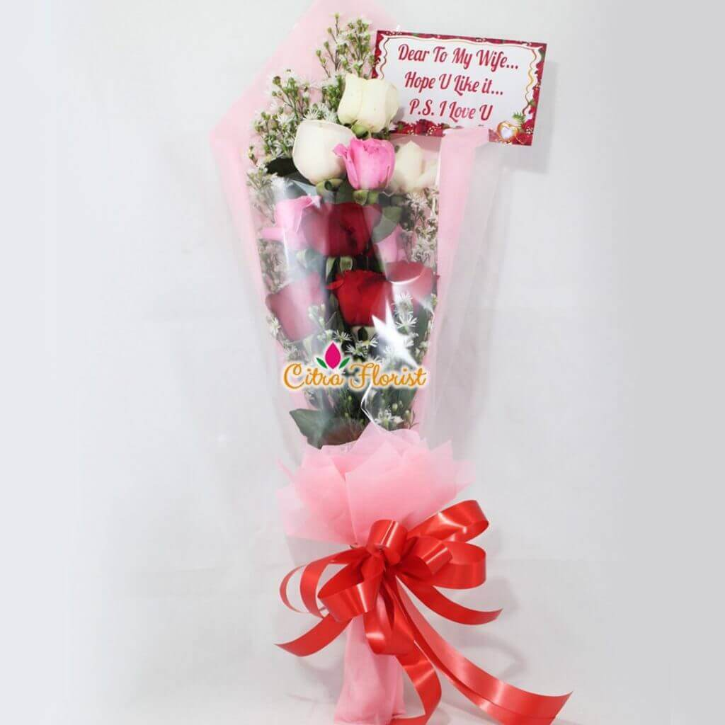 Bouquet Cutie Roses