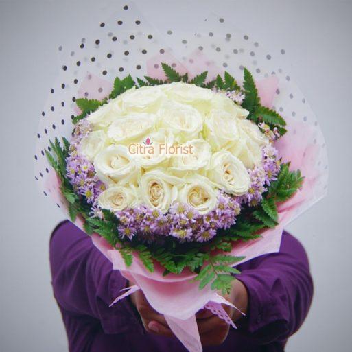 buket tangan mawar citra florist