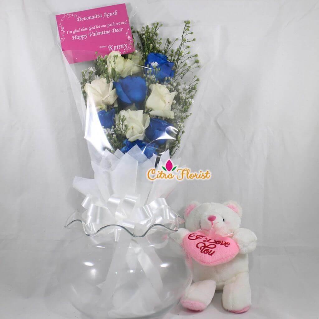 (SBY) Bouquet Kawai Blue
