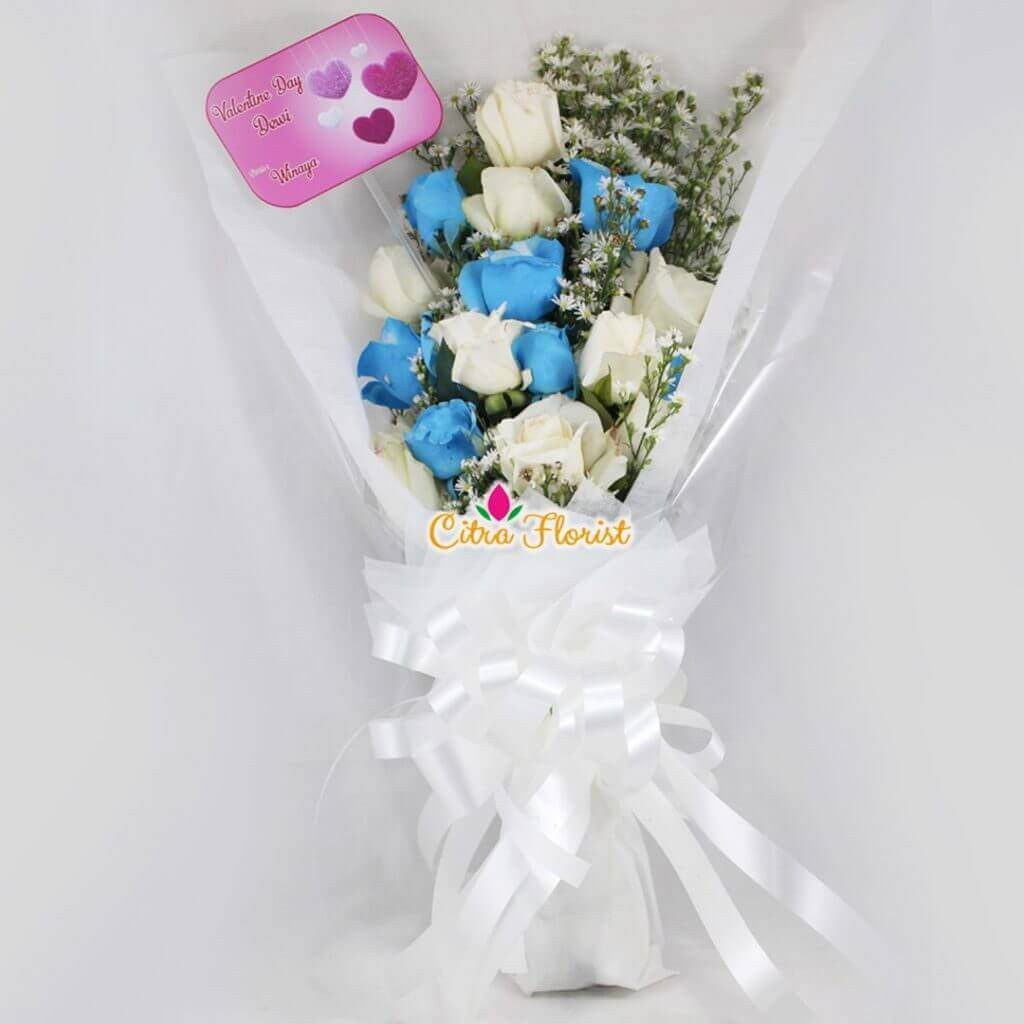 Bouquet Blue Saphire