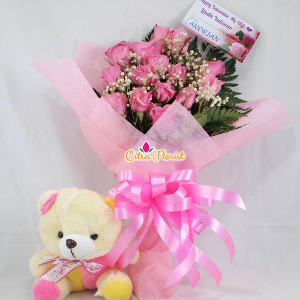 Bouquet Charming Pink