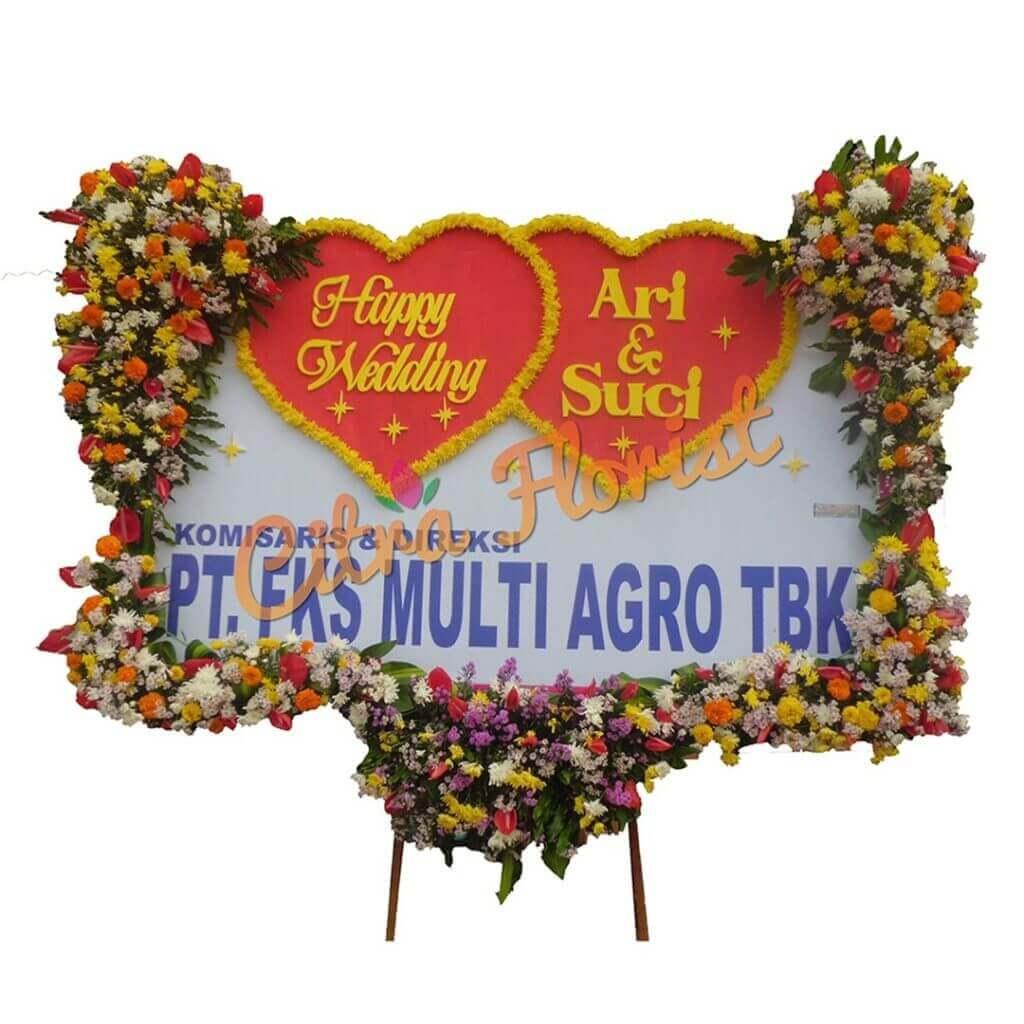Flowerboard Wedding Sterofoam 2.5 Meter Long Ears and Bread