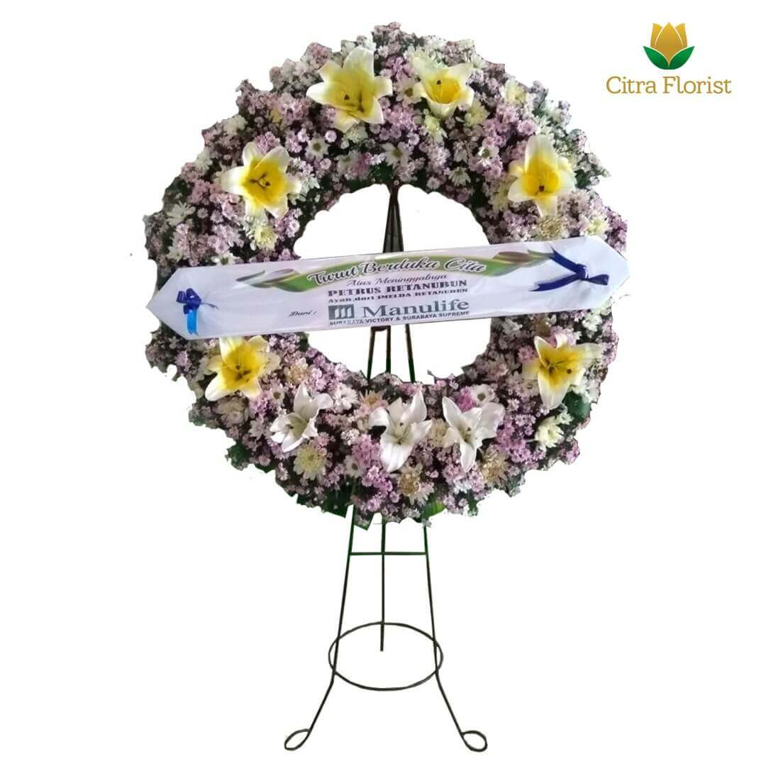 Condolence Flower Arrangements Fresh with Lily