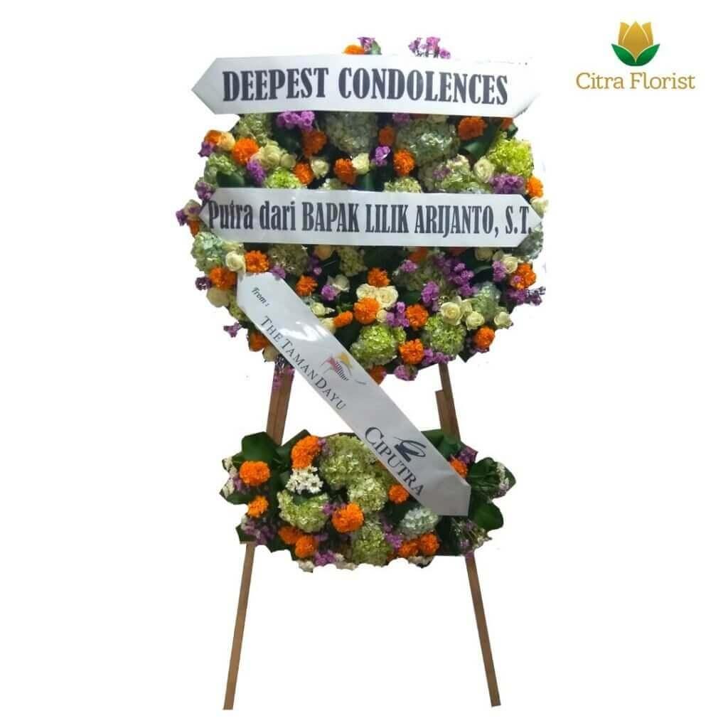 Condolence Flower Arrangements Fresh 2 Stacks
